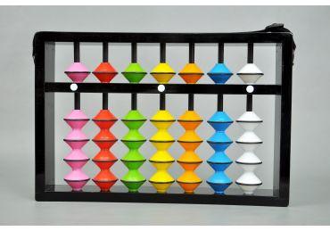 Teacher Abacus 7 Rod Multicolour
